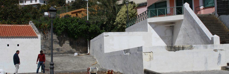 El Ayto. de Santa Cruz de La Palma inicia la rehabilitación de la Casa de la Cultura de Velhoco y su entorno