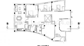 Vivienda de 170 m2 en Santa Cruz