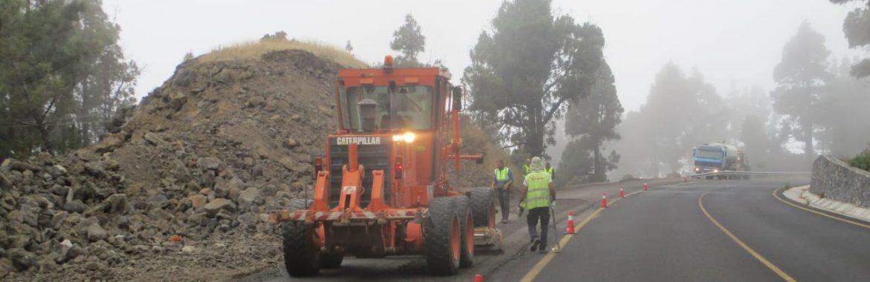 Obras Públicas concluirá la carretera hacia el Charco en Fuencaliente