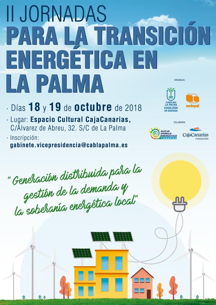 II Jornadas para la transición energética de la Isla