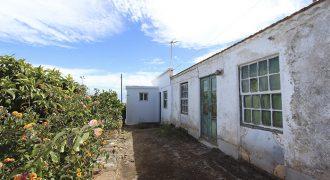 Casa con panorámicas al mar y aljibe en Garafía