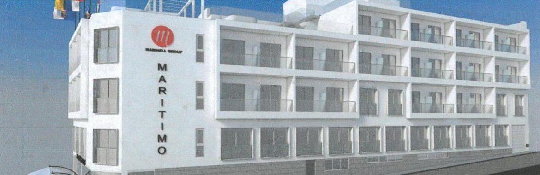 El Ayto. de Santa Cruz de La Palma recibe la solicitud de licencia de obras para la reforma del Hotel Marítimo
