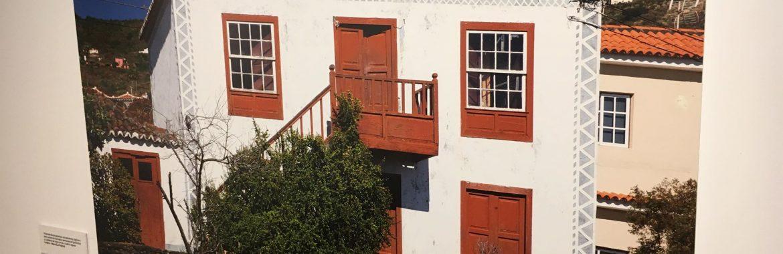 """Exposición arquitectura tradicional canaria """"Memoria Habitada"""" en La Palma."""