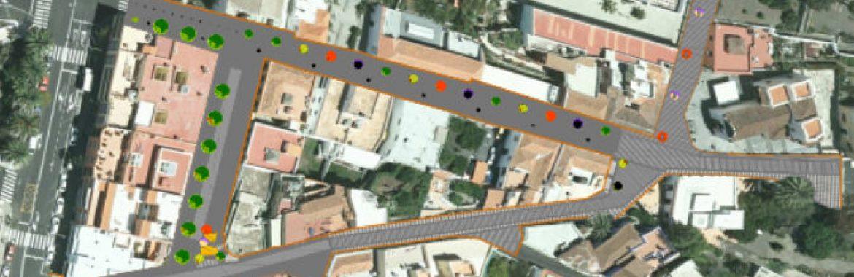 Sacan a la licitación las obras de urbanización de la calle Manuel Taño de El Paso