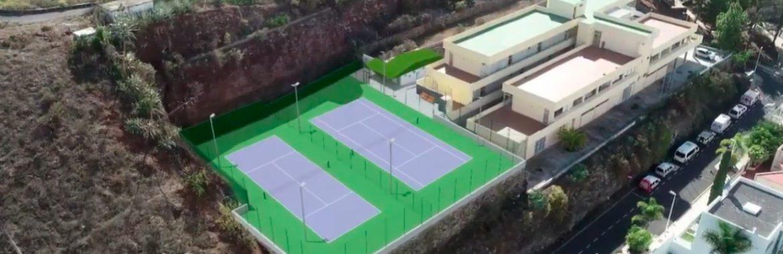 Nuevas pistas de Tenis en Los Llanos